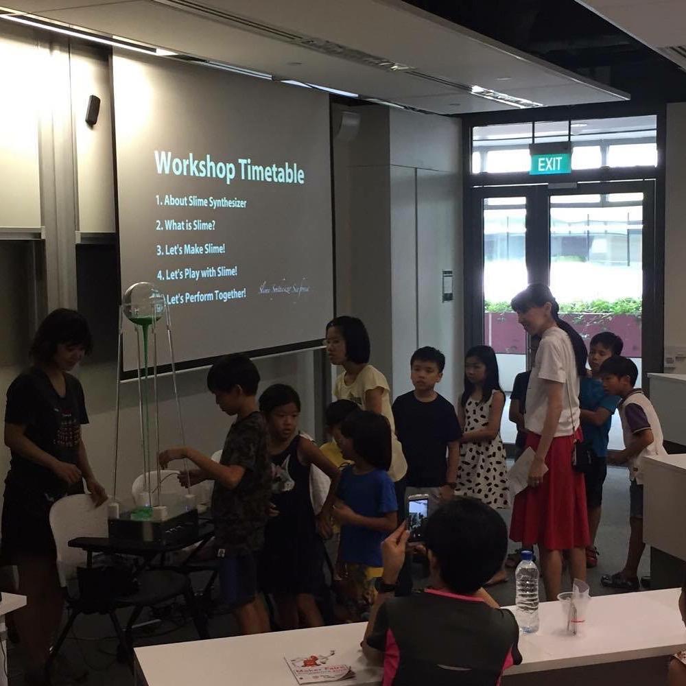 Maker Fair Singapore Slime_Synthesizer